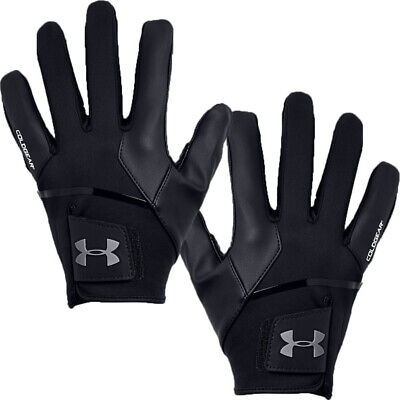 Under Armour 2019 ColdGear Infrared Leather Palm Winter Golf Gloves Pair
