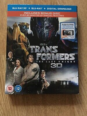 Transformers: The Last Knight (3D Blu-Ray + Blu-Ray + Bonus Disc