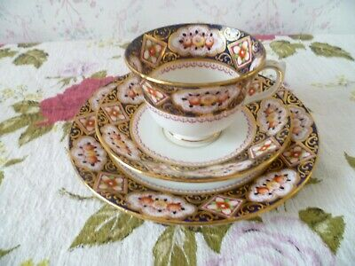 Vintage Royal Albert Crown China Trio Tea Cup Saucer Plate Heritage 4183