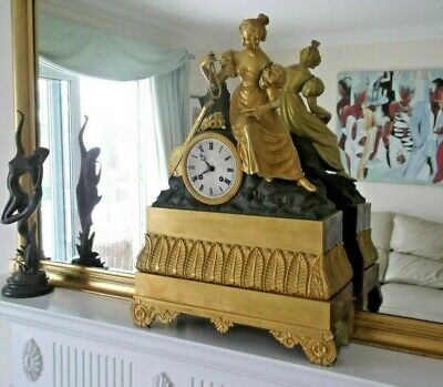 SUPERB FRENCH NAPOLEON 2nd OMULOU MANTLE CLOCK, STUNNING APPERANCE.