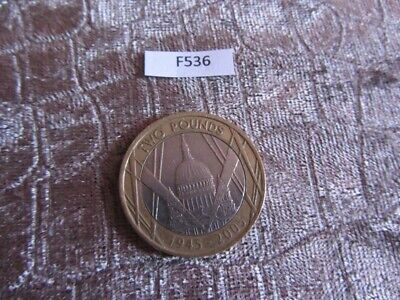 2005 2 Pound Coin St Pauls Cathedral  (F536)