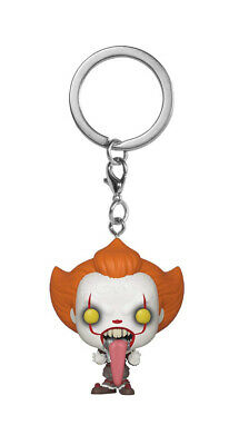 IT Chapter Two Pennywise with Funhouse Pocket Pop! Keychain Vinyl Figure
