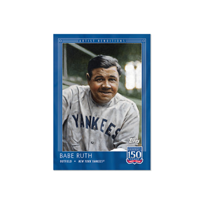 2019 Topps 150 Years of Baseball #75 Babe Ruth New York Yankees