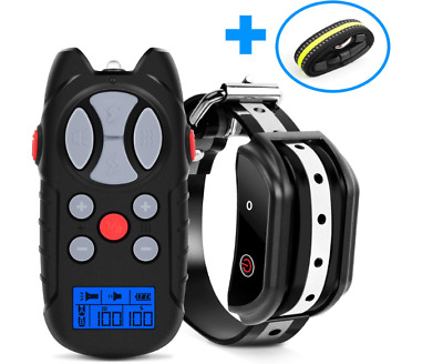 Shock Collar for Dogs, 2019 Newest Dog training Collar, Rechargeable Dog