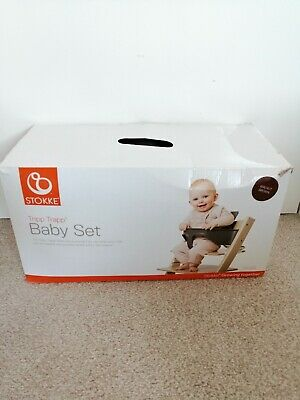 New Stokke Tripp Trapp high chair Baby Set Walnut Brown