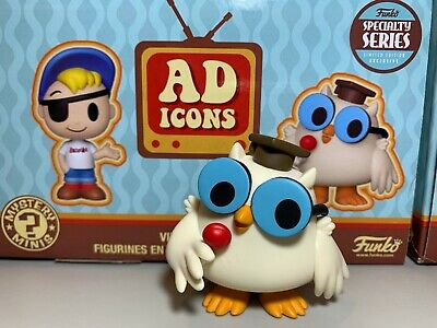 Funko Mystery Mini Mr Owl Ad Icons SPECIALTY SERIES w/ Box and bag upon request