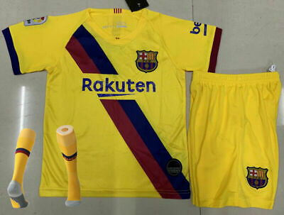 19-20 Soccer Suits Football Kits Outfit Sets +Socks Jerseys For Kids Adults 3pcs