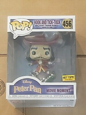 Funko Pop! Peter Pan Movie Moments Hook and Tick-Tock hot topic exclusive