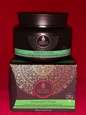 Moroccan Gold Series Treatment Mask 8.45oz Intense Care for  Dry & Damaged Hair