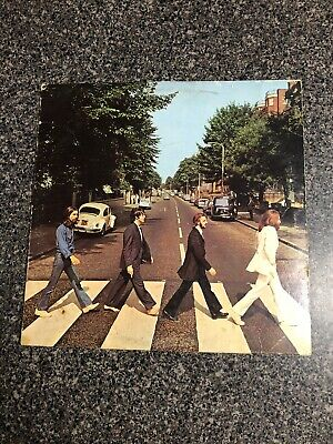 The Beatles Abbey Road Vinyl LP Vinyl Is Excellent See Description