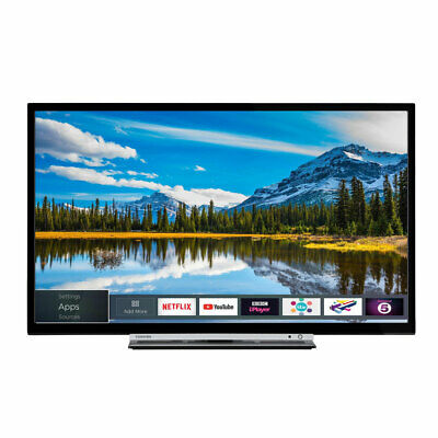 Toshiba 32W3863DB 32 Inch Smart HD Ready LED TV Freeview Play USB Record WiFi