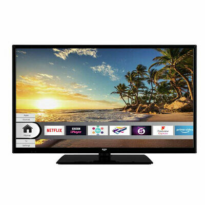 Bush DLED32HDS 32 Inch Smart HD Ready LED TV Freeview Play USB Playback