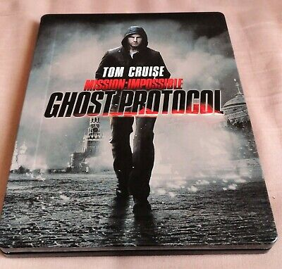 Blu ray Steelbook Mission Impossible Ghost Protocol avec VF(petits défauts)