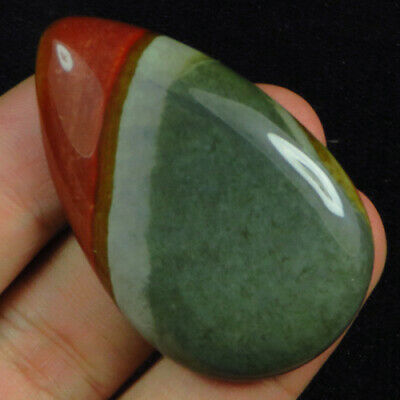 90.35Ct 100% Natural American Painting Picture Stone Jasper Cab MSMT76