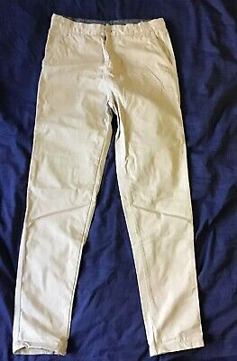Boys Size 16 Peter Morrisey Dress Formal Beige Pants