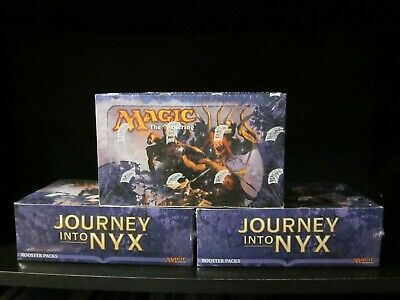 3x ENGLISH Journey Into Nyx Booster Boxes (Factory Sealed)
