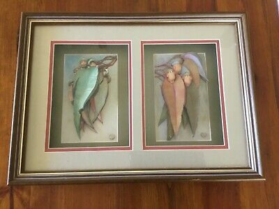 May Gibbs  Gumnut  Babies - Shadow Box Frame - Double Picture - Gorgeous