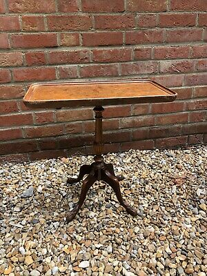 Antique Georgian style Mahogany Oblong Pedestal Side Table by Shaw Of London