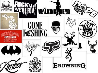 Custom Die Cut Vinyl Decals - *Most* Logos Or Images - Fast Free Shipping