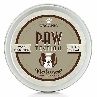 DOG PAW BALM Natural Dog Company PawTection Perfect for Hot Asphalt, Salt, Snow