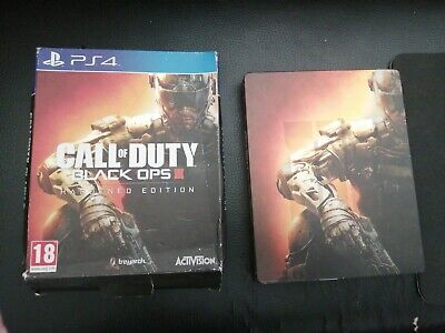JEU PLAYSTATION 4 PS4 : Call of duty black ops 3 Hardened ÉDITION