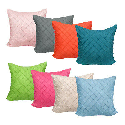 Square Throw Pillow Cushion Cover Decorative Couch Bed Car Pillow Protectors