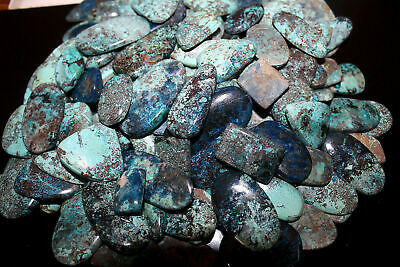 Wholesale Lot 250.00 Ct Natural Charming Azurite Multi Shape Cabochon Gemstone