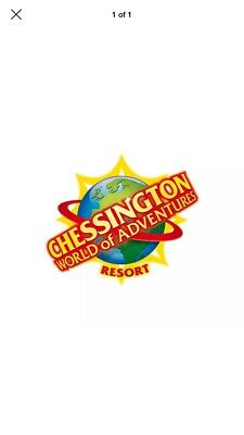 2 tickets for Chessington World Of Adventures for Wednesday 4th September only