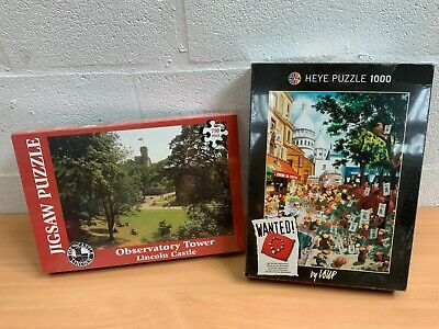 Jigsaw Puzzle New Sealed X 2 1000 750 Lincoln Castle Heye