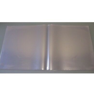 "5 12"" Double Gatefold Double Glass Clear Pvc Strongest Record Sleeves Covers"