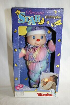 STAR Dream Gluhbaby Baby light toy - SIMBA Vintage NOS MIB - SEE super CUTE !!!!
