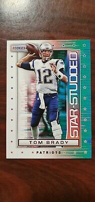 2018 Rookies And Stars Tom Brady New England Patriots Star Studded #2