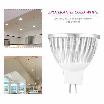 4 LED MR16 4W 12V cool White Spot Light Bulb Lamp Spotlight Focus DownlightB=B