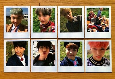 BTS Special Album Young Forever Official Photocards Select Member