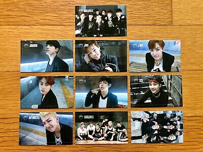 BTS 1st Album DARK&WILD Official Photocards Select Member