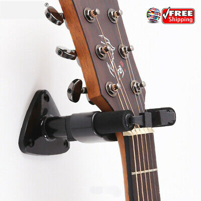 1pcs Guitar Wall Mount Hanger Stand Holder Hooks Display Acoustic Electric Bass#