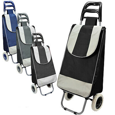 Shopping Trolley Cart Einkaufskorb Shopping Bag MPc  - EK Schwarz