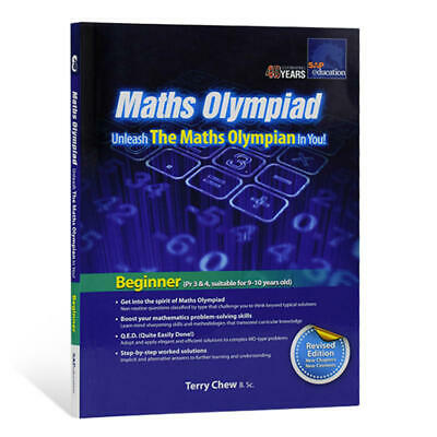 SAP Education Maths Olympiad Beginner for 9-10 Years Old - AU Year 4 5 6