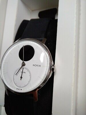 Nokia Steel HR Hybrid Smartwatch Activity, Fitness & Heart Rate tracker S275