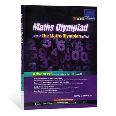 SAP Education Maths Olympiad Advanced for 11-13 Years Old - AU Year 6 7 8
