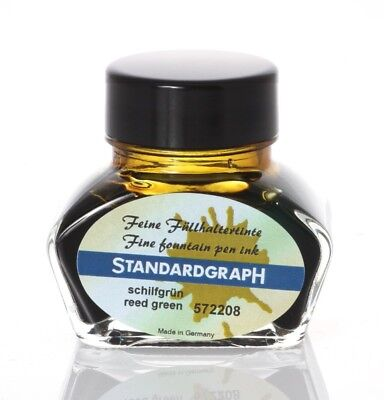 Standardgraph Encre reed green 30ml 572208