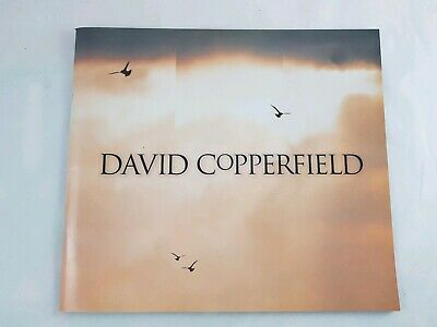 The Magic of DAVID COPPERFIELD 15 Years of Magic - Australian Tour Program 1996