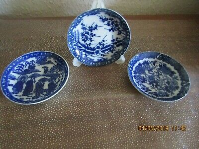 Trio Of Japanese Small Plates - Vintage.