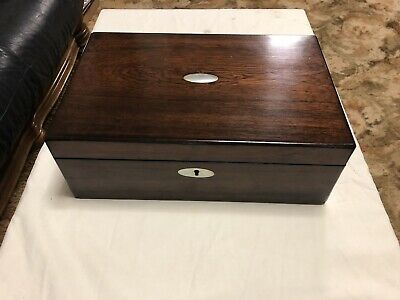 A185 Large Rosewood Writing Slope Box