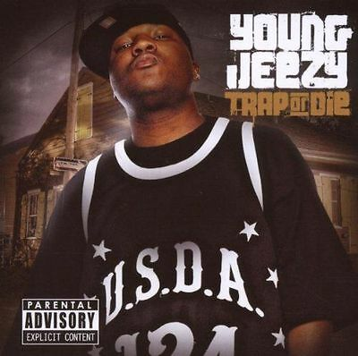Young Jeezy/DJ Drama - Trap Or Die - (Gangsta Grillz)-Official  Mix CD Brand New