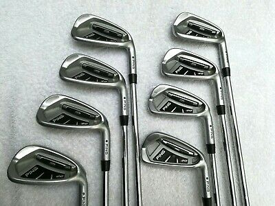 PING i 20 set  del 4 al U +wedge  varillas acero Regular green dot   - 8 hierros
