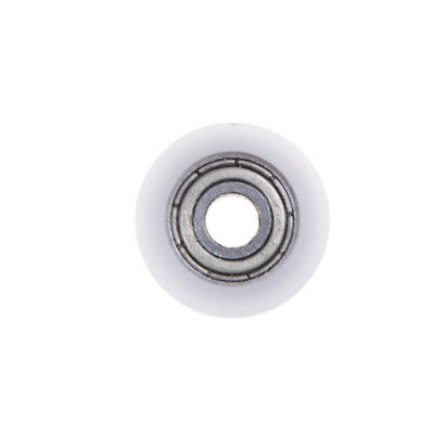 Best  4*15*6mm U Groove Metal Shield Nylon Pulley Wheels Roller Ball Bearings T
