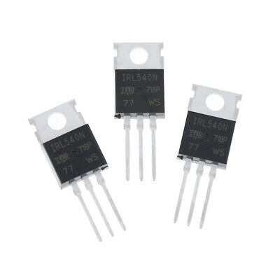 10Pcs New IRL540 IRL540N power MOSFET TO-  T