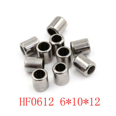 10pcs HF0612 6x10x12mm One Way Clutch Miniature Needle Roller Bearing  T