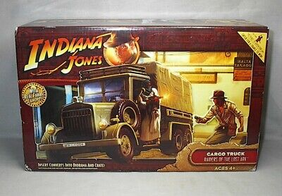 Indiana Jones Raiders Of The Lost Ark Cargo Truck W/ Real Fabric Canopy - Misb